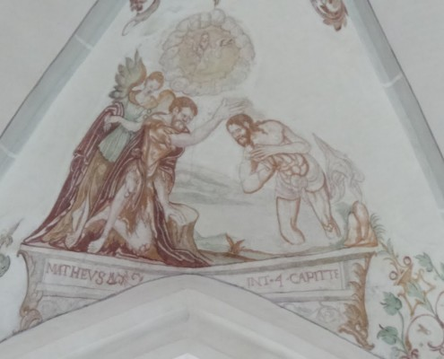 fresco in de kerk